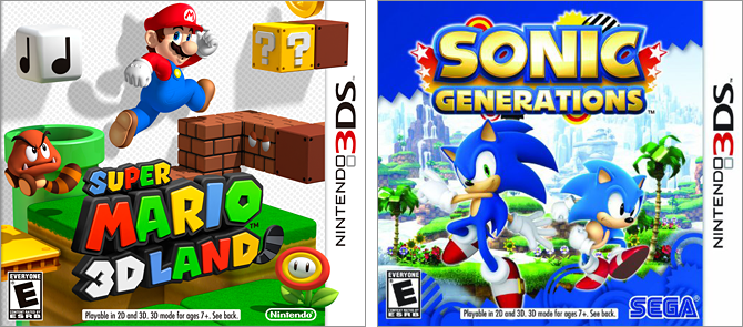 VS  MODE! Super Mario 3D Land Vs  Sonic Generations – A