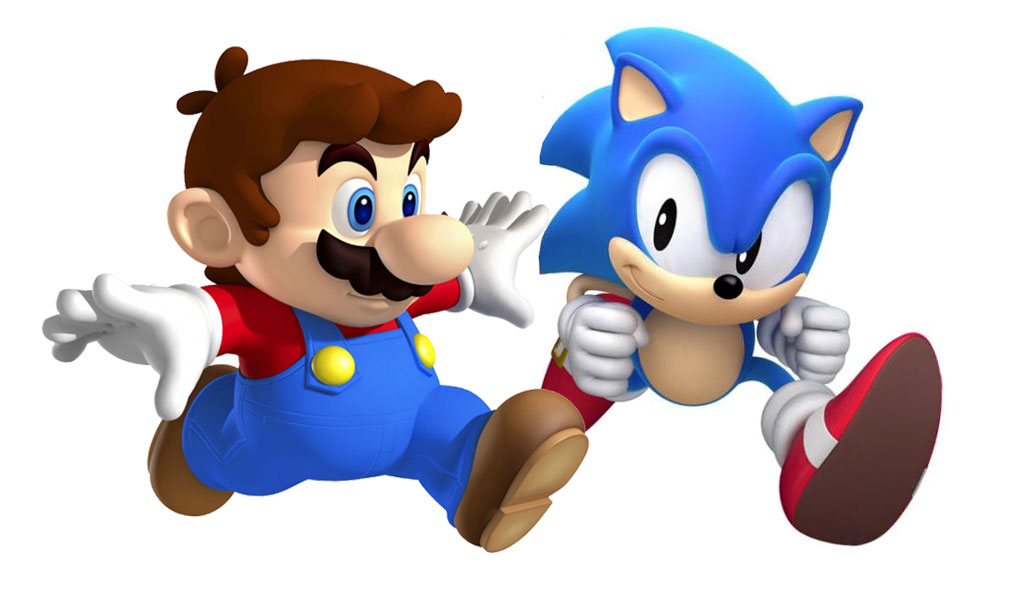 VS. MODE! Super Mario 3D Land Vs. Sonic Generations - A Critical Hit!