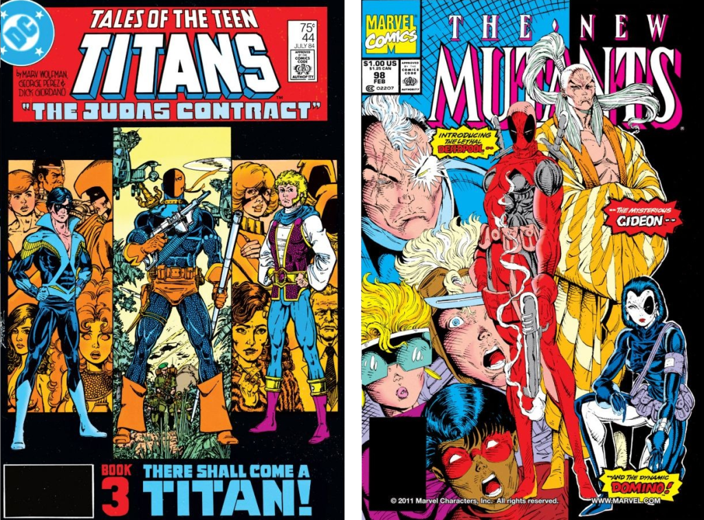 Tales Of The Teen Titans #44 / New Mutans #98