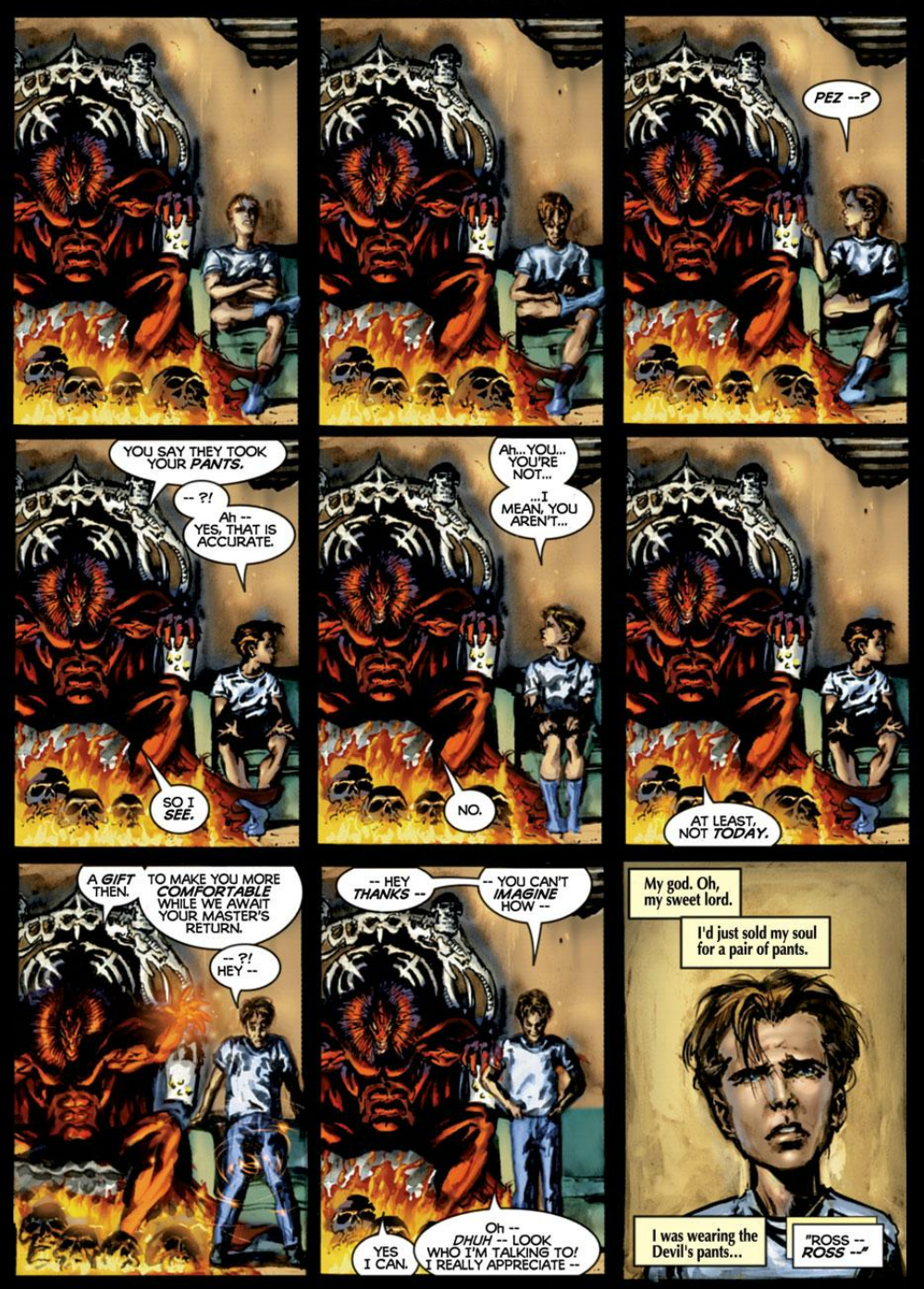 you dont know merc a history of deadpool a critical hit
