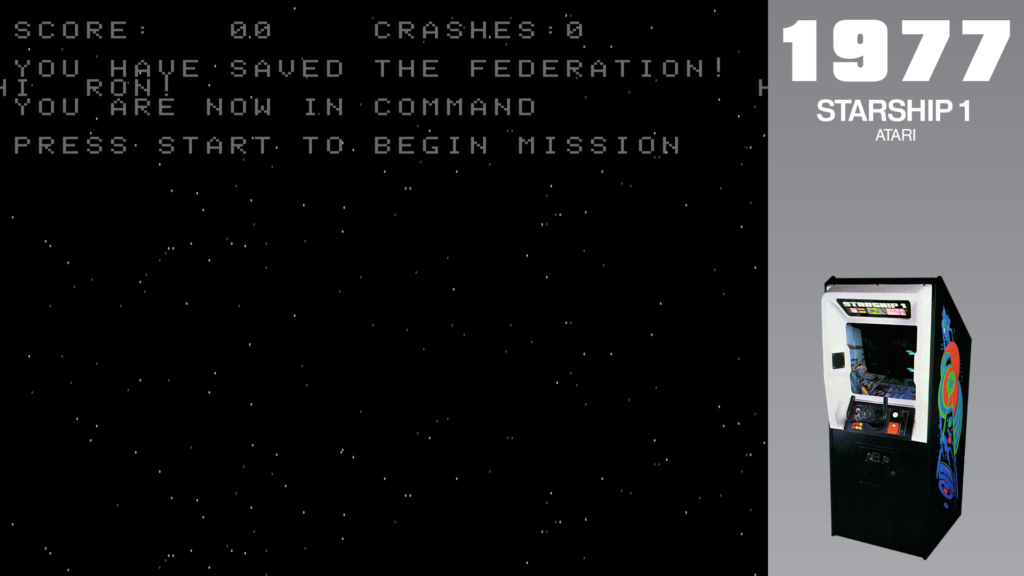 """A message on the screen says """"Hi Ron1 You are now in command. Press Start to begin mission."""""""